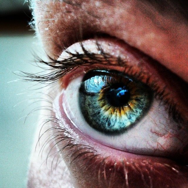 I love my eye.