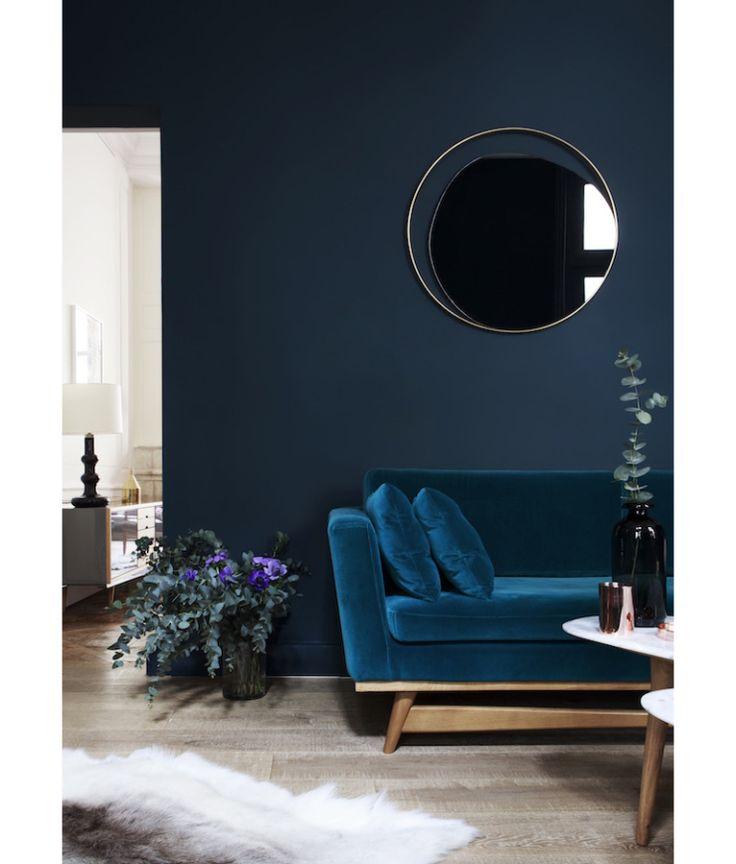1000 ideas about blue velvet sofa on pinterest velvet for Jess wohndesign