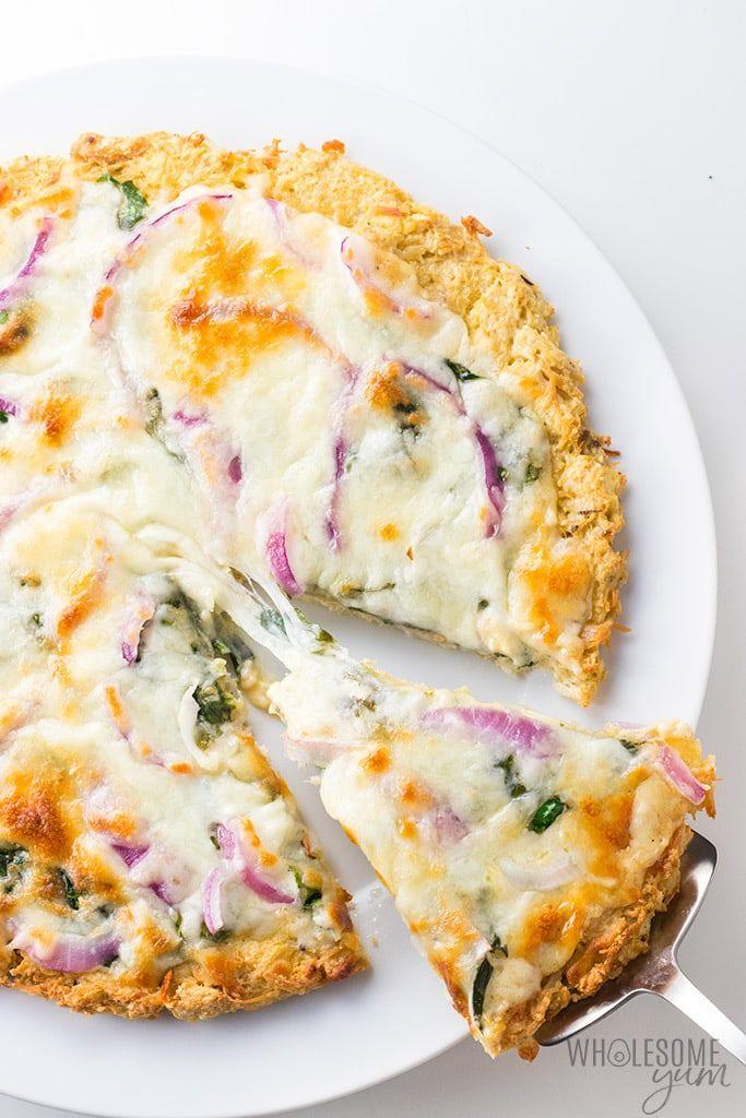Low Carb Keto Chicken Crust Pizza Recipe Wholesome Yum Chicken