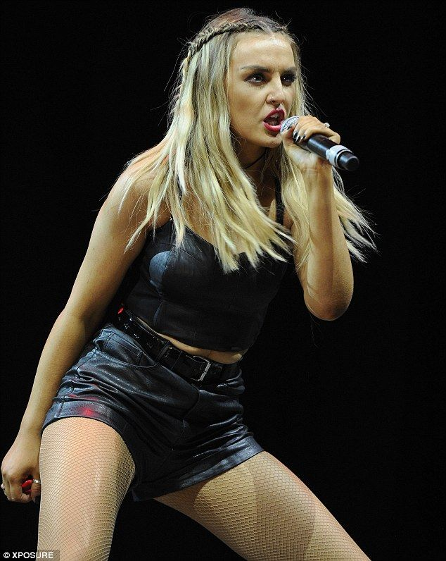 Perrie Edwards performing on stage. :) x