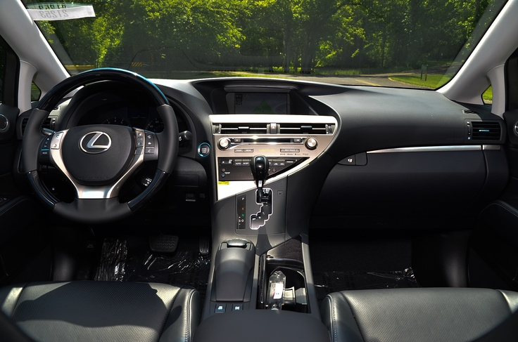 Beautiful new 2013 Lexus RX 350 in new Fire Agate over Black Leather interior with Ebony Birdseye Maple accents.  Stunning, isn't it?