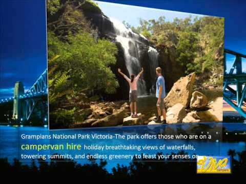 Campervan Hire Australian Holiday Destinations - YouTube