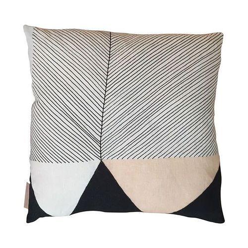 One of my favourites - MOONRISE cushion (back) 50x50cm 100% Linen #cushion #textiles