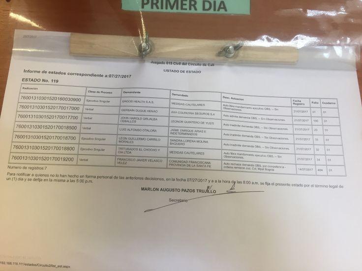 Resultado de imagen de JUZGADO 43 CIVIL DEL CIRCUITO DE BOGOTÁ FRANCISCO VELASCO
