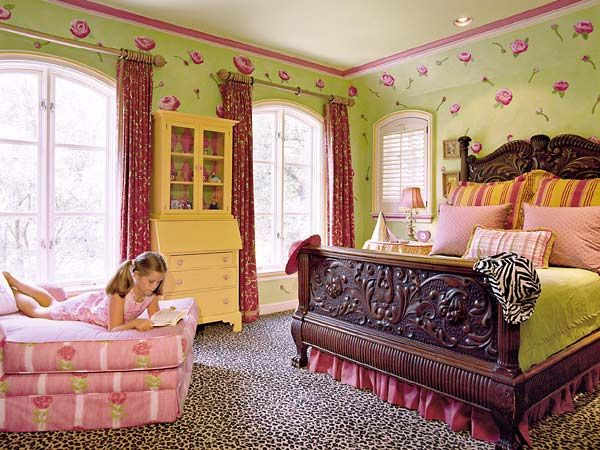 Bedroom Decorating Ideas With Leopard Print 36 best girl bedrooms|touches of animal print images on pinterest