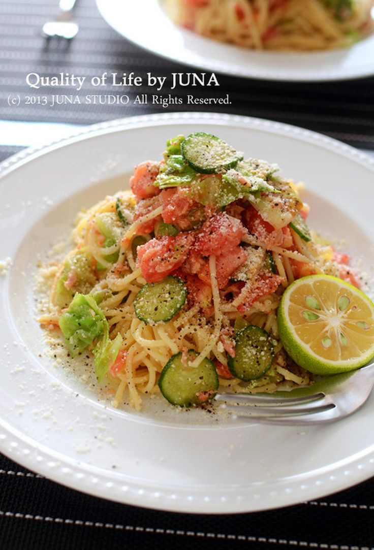 お野菜とツナの冷製スパ by JUNA(神田智美)   レシピサイト「Nadia   ナディア」プロの料理を無料で検索