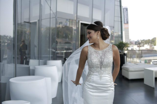 Novia clasica y elegante en Lima  #vestidodenovia #noviaclasica #lima #peru #hotel #westin