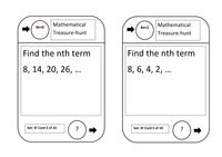 Sequences Treasure Hunt - Resources - TES
