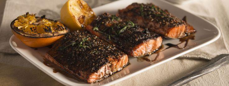 Traeger Salmon With Balsamic Glaze | Traeger Goodness