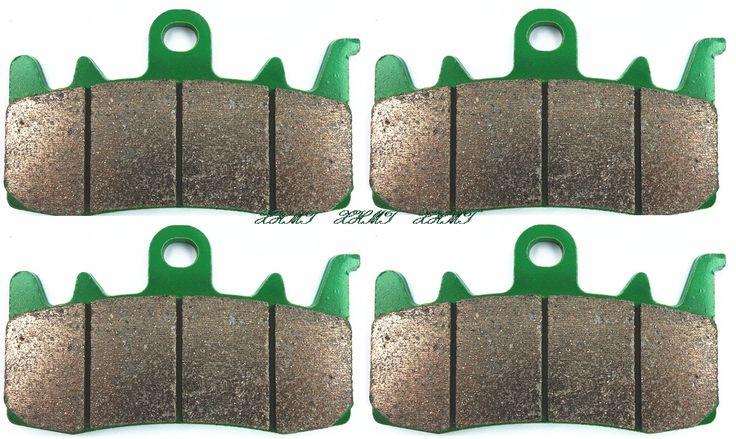Brake Shoe Pads Set for CAN AM ATV Spyder RS / RS-S / RT - LTD / RT / RT-S / ST - S / ST / ST -LTD /(Brembo Calipers) 2013 #Affiliate