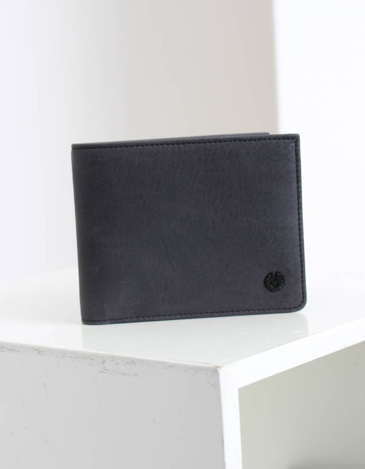 Belstaff Black Citymaster Billfold Wallet | Accent Clothing