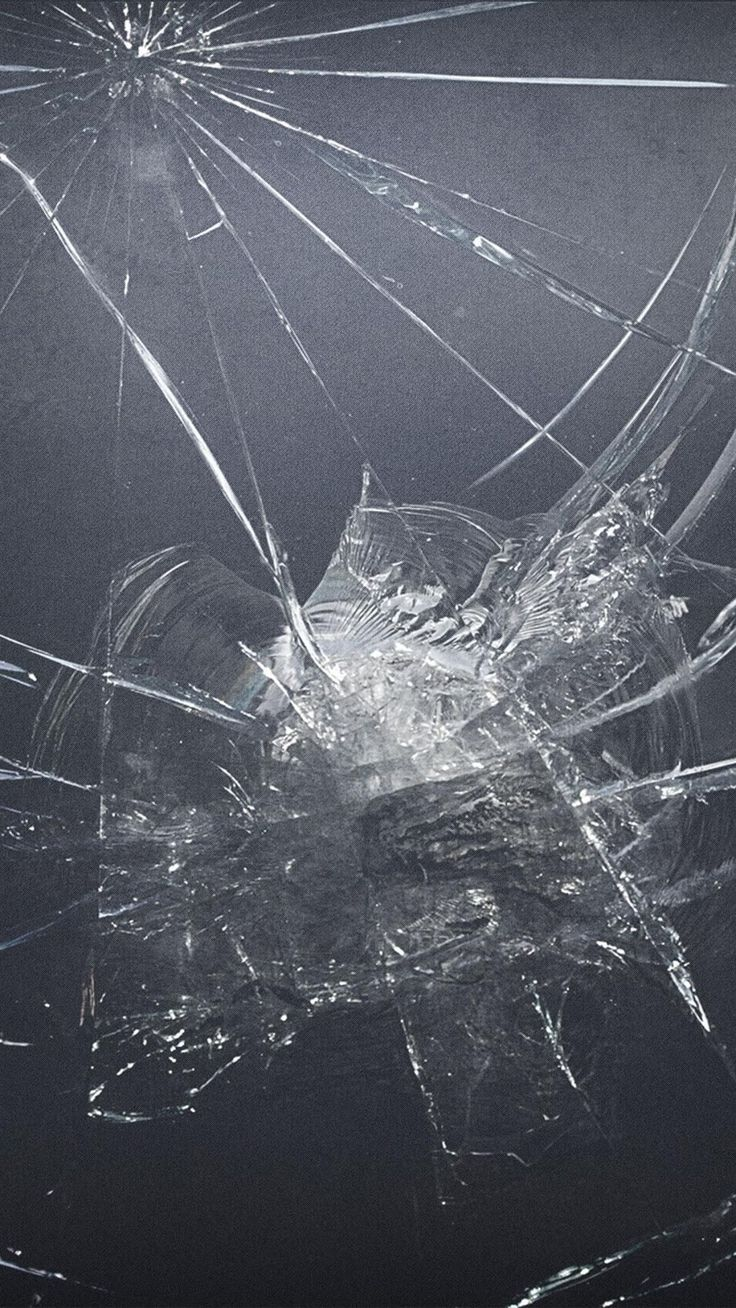 Картинка разбитое стекло айфона