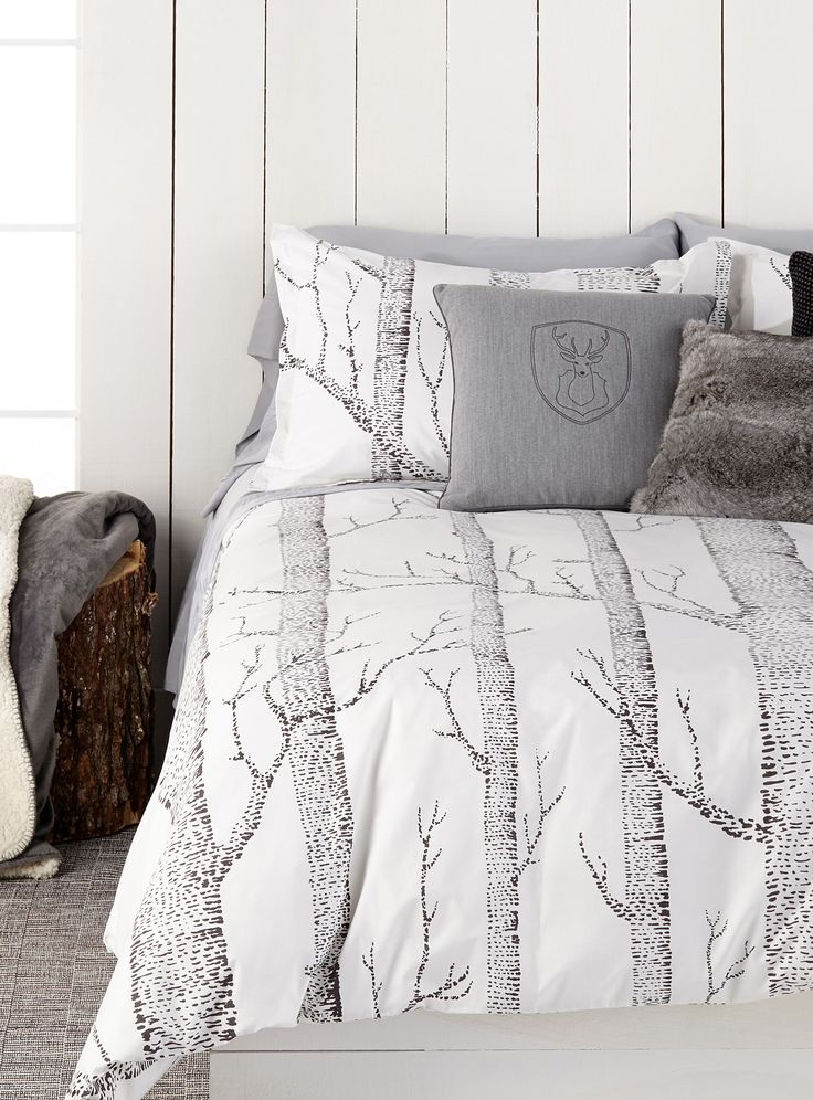 A Woodland Wonderland | Simons Maison Nordic Forest Duvet Cover Set. #home #bedding #decor