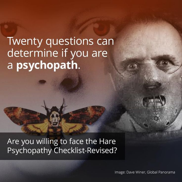 The Hare Psychopathy Checklist-Revised Will Tell You If You're A Psychopath (Maybe).  Rewards & Revenge are what drive the psychopath.  https://curiosity.com/topics/the-hare-psychopathy-checklist-revised-will-tell-you-if-youre-a-psychopath-maybe-curiosity/