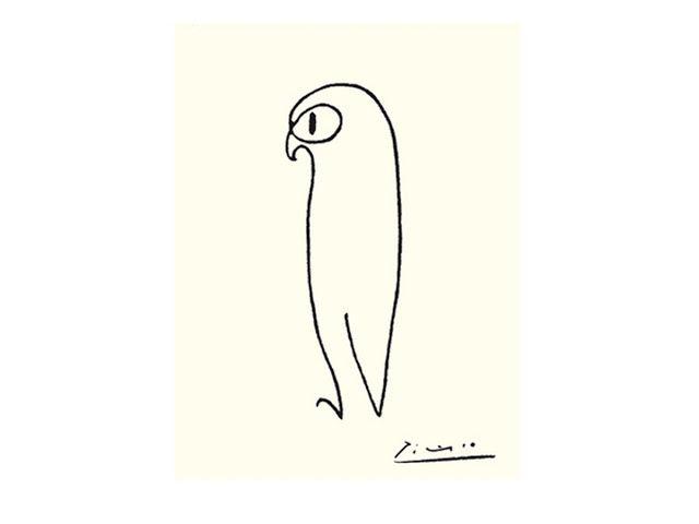 Anjas 'Tema della settimana: Camel settimana dopo 2: Quella linea di cammello di Pablo Picasso