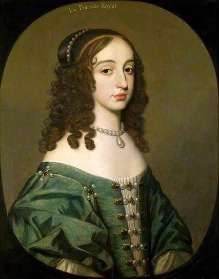 Princess Mary Henrietta (1631–1660), Princess Royal, Princess of Orange by Gerrit van Honthorst   National Trust - Ashdown House Oil on panel, 73.5 x 59 cm