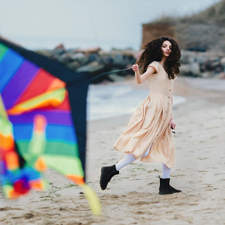 Art & Creative Art & Creative  red hair woman kate troyan portrait photo okeyteam girl kite