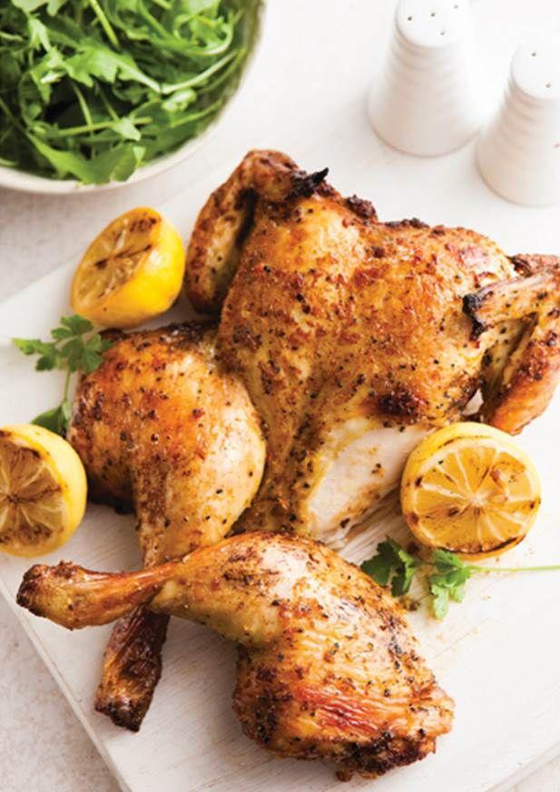 Lemon & Pepper Spatchcock Chicken #TheSecretChef #Aldi