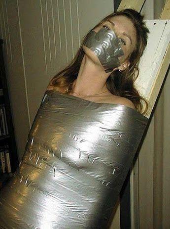 duct tape bondage death