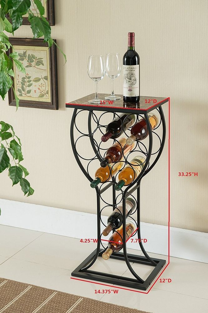Laid Out Appearance Wine Repository Coordinator Arrangement Table