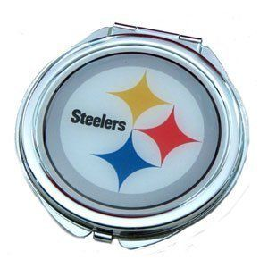 Pittsburgh Steelers - NFL Team Compact Mirror by aminco. $9.98. Show your support for the Pittsburgh Steelers with this Team Compact Mirror