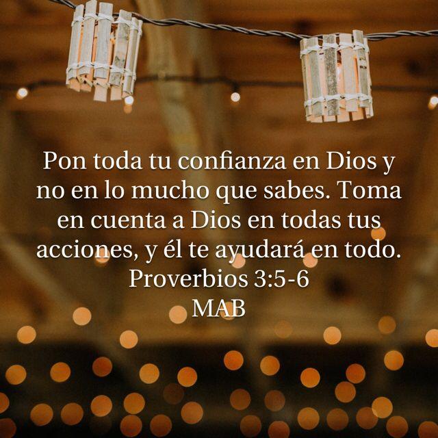Confianza en Dios MAB