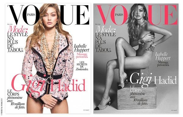 "Vogue.frさんはTwitterを使っています: ""Vous l'aviez rêvé #VogueParis l'a fait! #GigiHadid est notre nouvelle cover girl https://t.co/NePTaQq5Ji @GiGiHadid https://t.co/BzjTyGQYjm"""