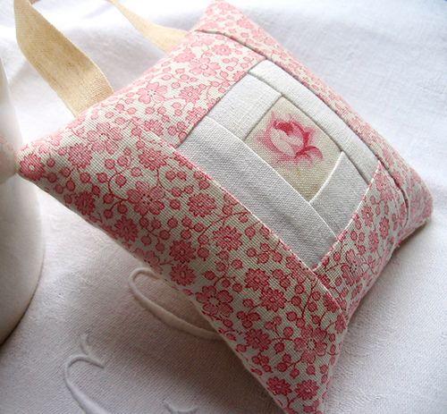 A Lavender Sachet by petits détails, via Flickr