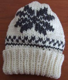 Addi Express  - tutorial Hood with rib knitting