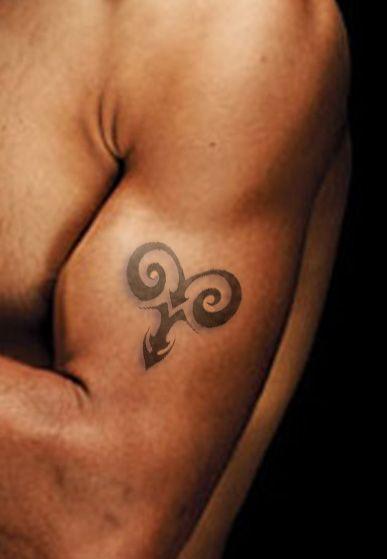 Marvelous Aries Tattoo Design