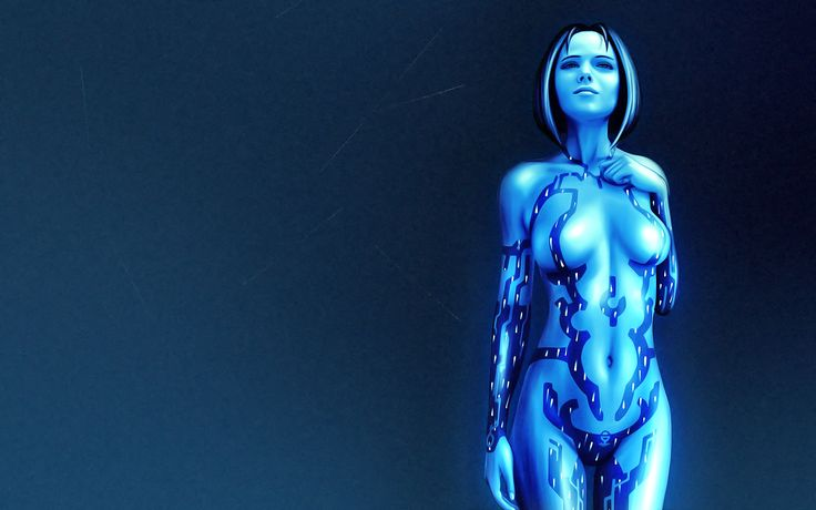 Vídeo Game Halo  Cortana (Halo) Hologram Papel de Parede