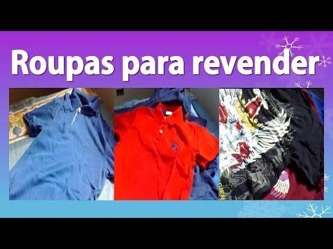 Roupas para Revender - 100% originais e 90% mais baratas, tudo de marca!...https://go.hotmart.com/M4861844F