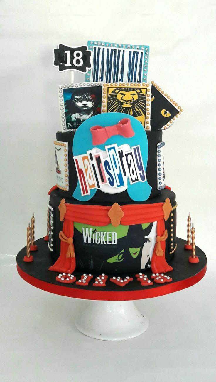 Musical Theatre Birthday Cake