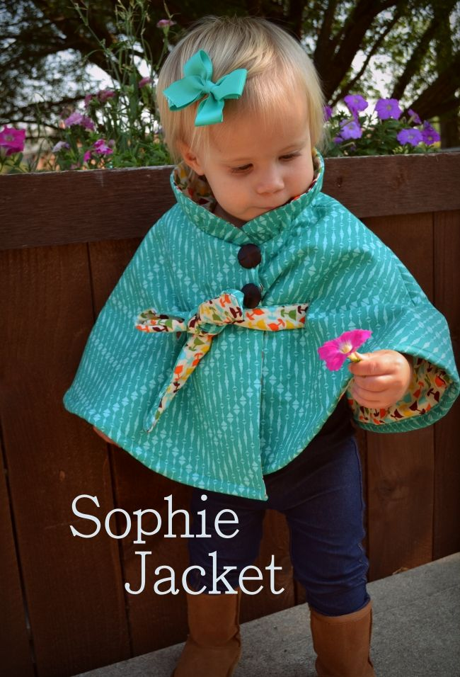 The Sophie Childrens Coat PDF Pattern