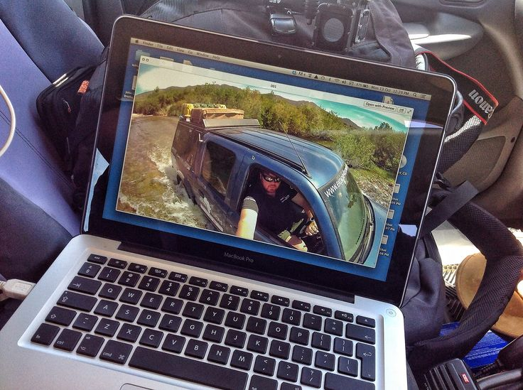 Sitting and working in the #Ford #Ranger on route along the #OlifantsRiverWC on our #MacBook