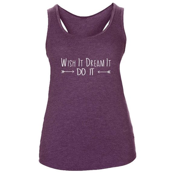Supersoft Triblend Women's Yoga Wish It Dream It Do it