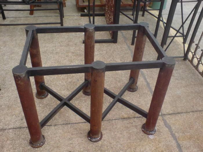 iron table bases for sale studios iron furniture wrought iron furniture consoles tables. Black Bedroom Furniture Sets. Home Design Ideas