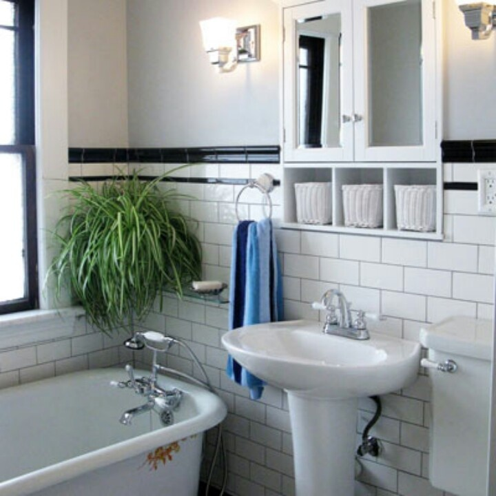 Grey grout with white subway tile love tile for Old tile bathroom ideas