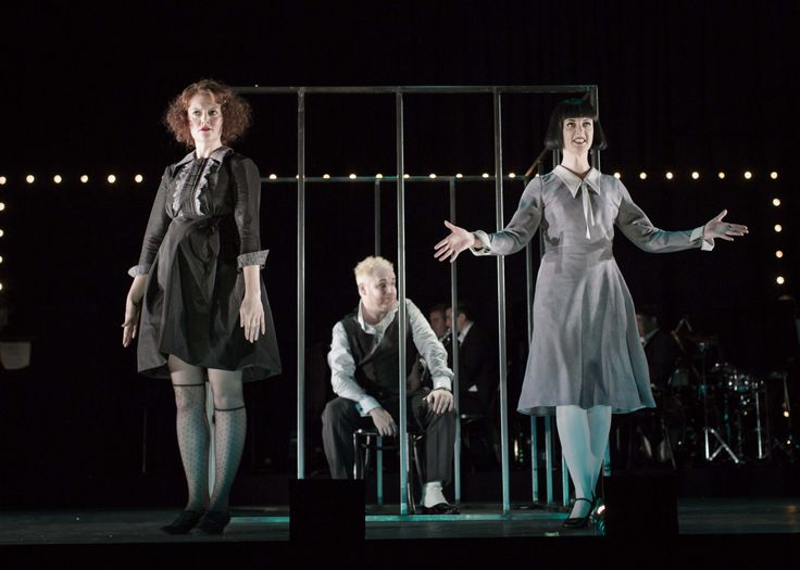 Ruth McGill , David Ganly & Charlotte McCurry  in Threepenny Opera at the Gate Theatre