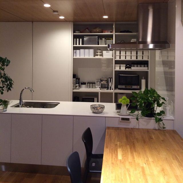 206 キッチン収納/キッチンのインテリア実例 - 2014-03-19 18:46:16 | RoomClip(ルームクリップ)