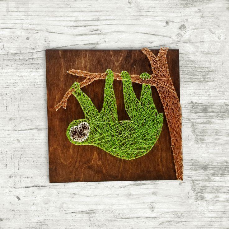 Sloth String Art Woodland Animals 70 best