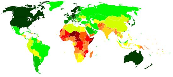 List of countries by Human Development Index - Wikipedia, the free encyclopedia
