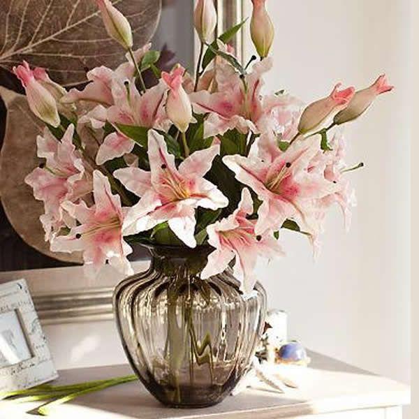 Las 25 mejores ideas sobre flores artificiales en - Decoracion de jarrones con flores artificiales ...