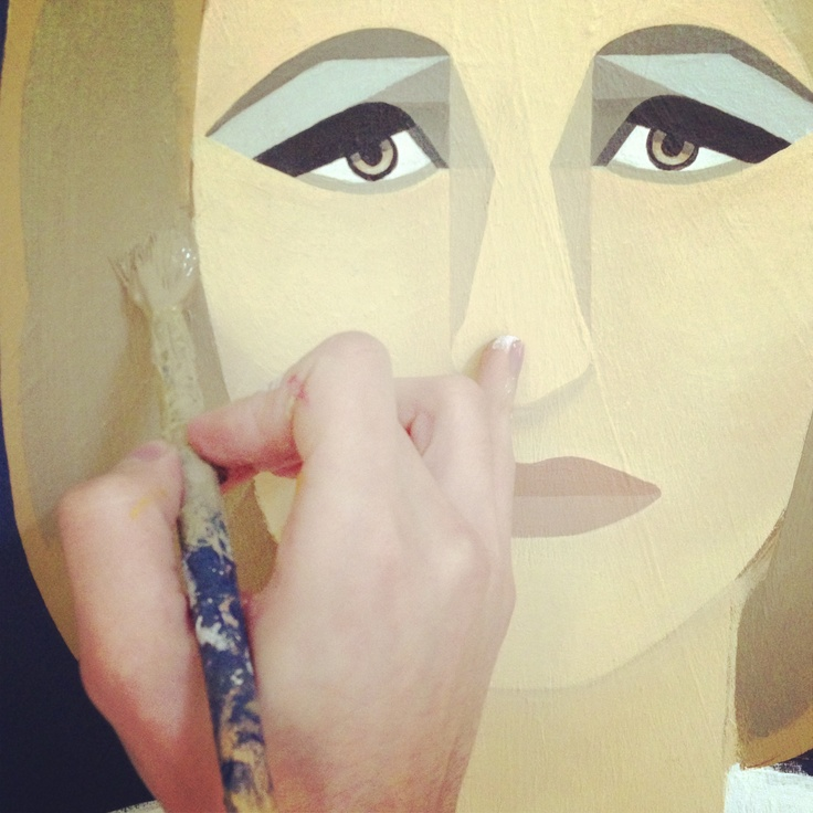 Latest painting.