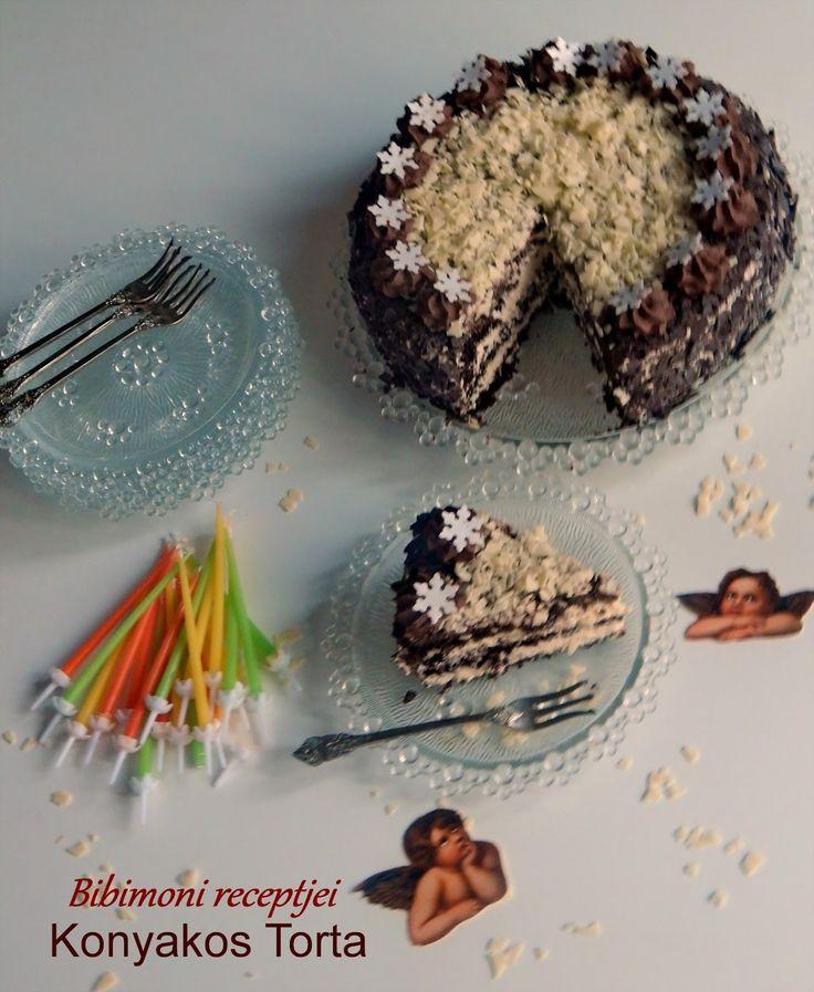 Bibimoni Receptjei: Konyakos Torta