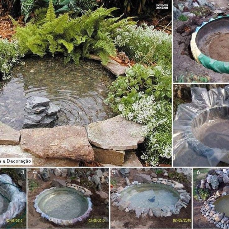 The 25 best digging a pond ideas on pinterest diy pond for Make your own pond liner