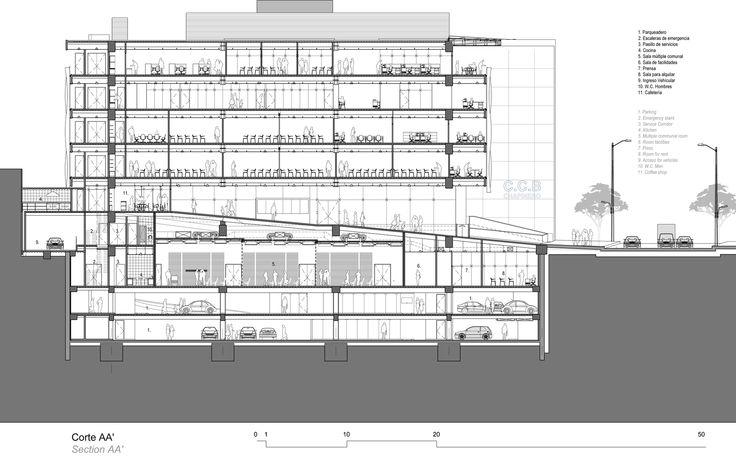Galeria - Edifício Câmara de Comércio Sede Chapinero / Daniel Bonilla Arquitectos - 17