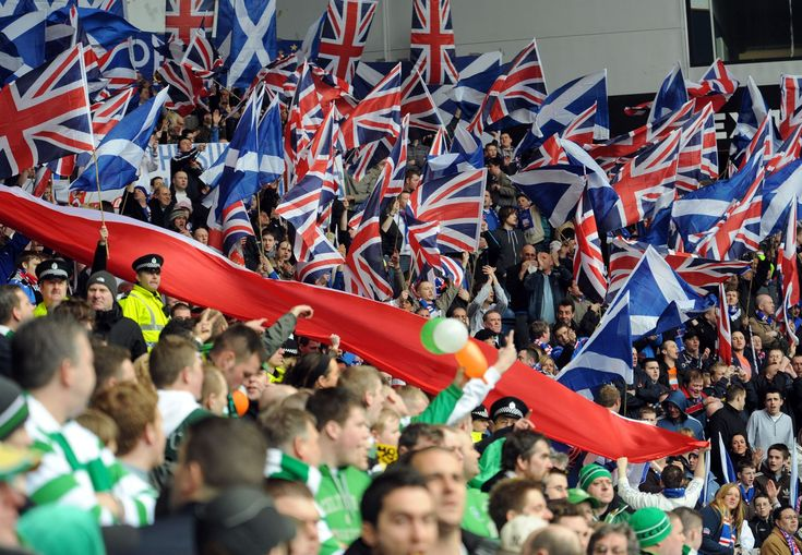 Sporting Passion: Few other footballing nations can boast the passion and intensity of the old firm rivalry. Celtic & Rangers fans have supporters clubs around the world.