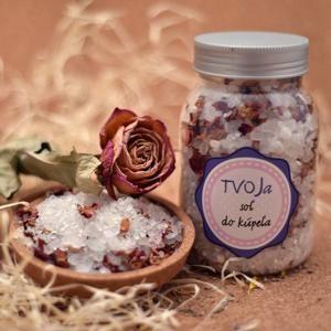 Sůl do koupele Romantická Tvoja kozmetika