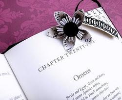 origami bookmark project :)